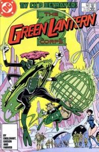 Green Lantern Corps #214