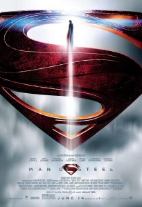 """Man of Steel"" poster"