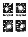 Tangent Comics unused logos 2