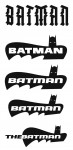 Tangent Wave 2 unused logos: Batman