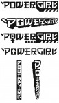 Tangent Wave 2 unused logos: Power Girl