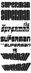 Tangent Wave 2 unused logos: Superman