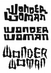 Tangent Wave 2 unused logos: Wonder Woman