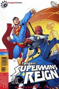 Cover to TANGENT: SUPERMAN'S REIGN #7