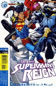 Cover to TANGENT: SUPERMAN'S REIGN #10