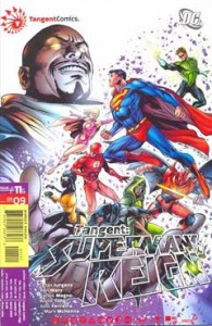 Cover to TANGENT: SUPERMAN'S REIGN #11