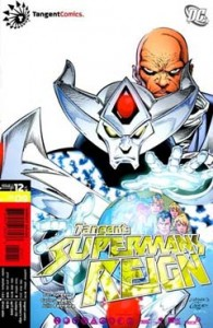 Cover to TANGENT: SUPERMAN'S REIGN #12